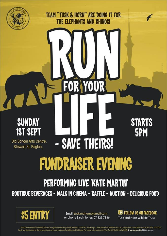 Tusk and Horn Wildlife Trust 'Run for Your Life' event