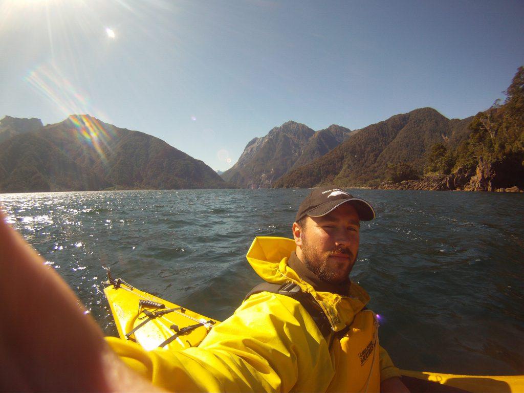 Kayaking at Milford Sound
